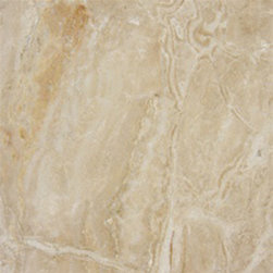 "Breccia Oniciata Polished Marble Floor & Wall Tiles 12"" x 12"" - 12"" x 12"" Breccia Oniciata Marble Floor and Wall Tile is a great way to enhance your decor with a traditional aesthetic touch. This polished tile is constructed from durable, impervious marble material, comes in a smooth, unglazed finish and is suitable for installation on floors, walls and countertops in commercial and residential spaces such as bathrooms and kitchens."