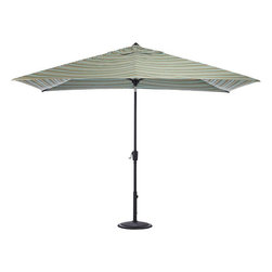 Home Decorators Collection - Home Decorators Collection Patio Umbrellas 10 ft. Auto-Tilt Patio Umbrella in - Shop for Outdoor Patio Furniture at The Home Depot. Our Rectangular Auto Tilt Market Umbrella offers a unique design that keeps your outdoor areas stylish and in the shade. Measuring 6.5 ft. x 10 ft. its easy Auto Tilt design and vast fabric options will help keep everything outdoors comfortable and chic. Keep your guests cool in the shade with this sturdy and stylish outdoor umbrella; order yours today.