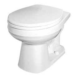GERBER PLUMBING - Gerber Maxwell Bowl Round White - Features: