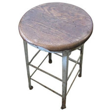 Industrial Bar Stools And Counter Stools by Chairish