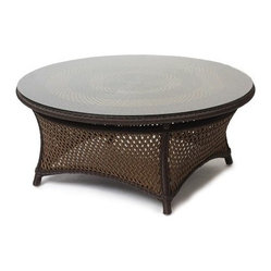 Lloyd Flanders Grand Traverse 42 in. Round Conversation Table