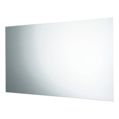 Gedy - Horizontal or Vertical Wall Mounted Polished Edge Mirror - A luxury complimentary piece.