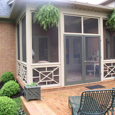 Traditional Patio by Crawford Builders