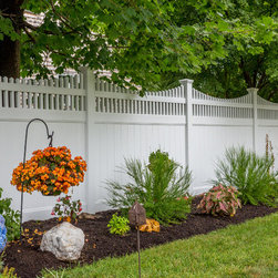 ActiveYards Fencing Solutions - Aspen Haven - White