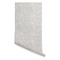 A Stones Throw Wallpaper, White & Gray
