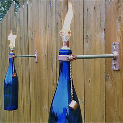 eclectic outdoor lighting by Etsy