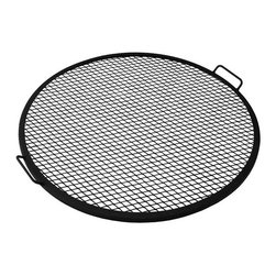 Sunnydaze Decor - Sunnydaze X-Marks Fire Pit Cooking Grill, 36 Inch Diameter - Designed with a durable metal construction, this cooking grate is perfect for cooking over the open fire. Creates perfect grill marks on food without any hassle.  Offered in multiple sizes, you can find the perfect size for your outdoor fire pit or grill. Enjoy an evening of grilling with this cooking grate!  Sunnydaze D�cor focuses on offering you quality home and garden products. We find innovative and useful products for your interior and exterior space by traveling the globe. The talented designers we find in our travels develop high-quality end products that provide you with a stunning new piece for your space. Our main goal is to find products that will provide your home with a relaxing, yet beautiful element. Those products include indoor and outdoor fountains, hammocks, hammock stands and hammock swings or chairs; fire pits and fire pit cooking accessories.  We stand behind our brand and the quality of the items we sell. We will send new parts, or replace products at our discretion within the warranty period. Before we can help, you will need to provide proof of purchase with the date of purchase and photos of the defective merchandise. We will use the photos to determine the cause of defect and for future quality control.