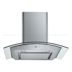 "Cavaliere - Cavaliere SV198D-SP36 36; Wall-Mounted Stainless Steel Range Hood - Mounting version - Wall Mounted 860 CFM centrifugal blower  Three-speed mechanical, soft-touch push button control panel Two 35W halogen lights (Type: GU-10)  Aluminum multi-layers micro-cell dishwasher-friendly grease filter(s) Machine crafted stainless steel (brushed finish) 6"" round duct vent exhaust and back draft damper Telescopic flue accommodates 8ft to 9ft ceilings (optional flue extension available for up to 10ft ceiling)  Tempered Glass Canopy For residential use only, one-year limited factory warranty"