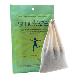 IMTEK | NoOdor - Smelleze Reusable Book Smell Removal Deodorizer Pouch: X Large - Summary