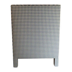 Custom Upholstered Twin Headboard in Kravet Fabric - $1,300 Est. Retail - $800 o -