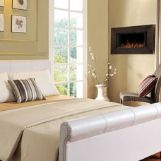 Contemporary Fireplaces by Electric Fireplaces Direct