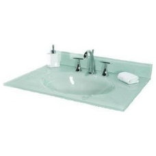 Traditional Vanity Tops And Side Splashes by PlumbingDepot.com