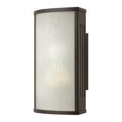 Hinkley - Hinkley District One Light Bronze Outdoor Wall Light - 2110BZ - This One Light Outdoor Wall Light is part of the District Collection and has a Bronze Finish. It is Outdoor Capable.