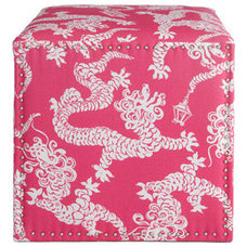 Eclectic Footstools And Ottomans by Neiman Marcus