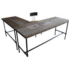 Industrial Desks by UrbanWood Goods