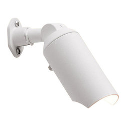 LANDSCAPE - LANDSCAPE MR-16 Mini Accent Outdoor Spotlight X-THW39051 - The crisp Textured White finish of this Kichler Lighting mini outdoor accent spotlight is perfect for installing against lighter surfaces, including houses or Beech trees. The spotlight head can also be angled or directed for optimal versatility.