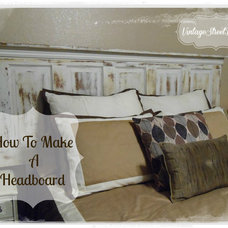 Eclectic Headboards by Vintage Street Designs
