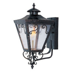 Maxim Lighting - Maxim Lighting 39992CLOI Cordoba Outdoor Wall Gas Lantern In Oil Rubbed Bronze - Features