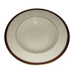 Lenox - Lenox Monroe  Rim Soup Bowl - Lenox Monroe  Rim Soup Bowl