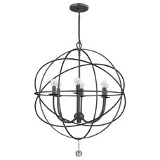 contemporary chandeliers by crystorama.lightingdirect.com