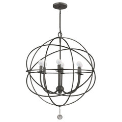 contemporary chandeliers by Crystorama Lighting