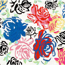 The Rug Market - Rosey Posey-Brights area rug -