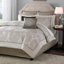Madison Park Sausalito 12-piece Bed in a Bag with Sheet Set -