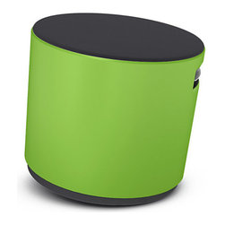 Steelcase - Turnstone Buoy, Wasabi / Tornado - Look! It's a stool; it's a chair, it's a weird, moving contraption thingy!  No!  It's a Buoy!