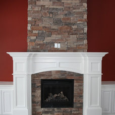 Contemporary Fireplaces by Moulding Warehouse