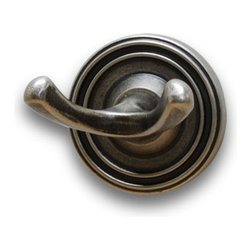 Residential Essentials - Aged Pewter Bradford Robe Hook(RE2203AP) - Aged Pewter Bradford Robe Hook