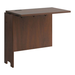 "Bush - Bush Envoy 31"" Desk Return Hansen Cherry Finish - Bush - L/R Returns - PR76515 - Transform your Corner Desk with the Envoy Collection Desk Return. The return extends your desk to the left or right and features advanced wire management features to keep your work surface uncluttered."