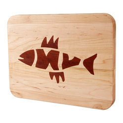 Appalachian Maple Fish Bones Classic Board