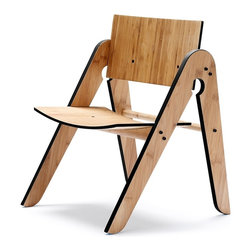 We Do Wood - We Do Wood Lilly's Chair, Black - Lilly's Chair is not only elegant, timeless and functional - it is a chair perfectly fitted for all children between 1-5 years old. With its unique design and material it brings a new dimension to children's furniture. Combined with Geo's Table you will have children's furniture that will last through generations. Lilly's Chair is designed to be assembled easily at home.