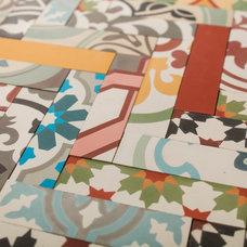 Eclectic Floor Tiles by Bespoke Tile & Stone