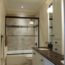 Traditional Bathroom by Andrew Roby General Contractors