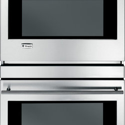 """GE Monogram - GE Monogram® 30"""" Built-In Electronic Convection Double Wall Oven - From the simplest gratin to the Thanksgiving turkey, a Monogram wall oven delivers exceptionally consistent cooking performance, every time. Of course, exceptional design, whether European or professional, takes shape in these powerful wall ovens."""