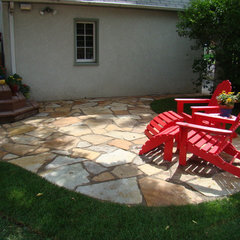 traditional patio by Bachman's Landscape Design - Tom Haugo