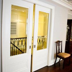 Pocket Glass Doors - Style #225 Cascadelli.