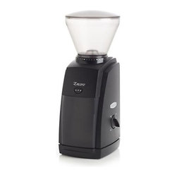 Baratza Encore Coffee Grinder - Precision-cut steel burrs produce a wide range of grind profiles perfect for an exceptional coffee drink from French press to espresso. Adjustable to 40 different steps, this state-of-the-art grinder has a powerful, high-torque motor that turns slowly for cool, quiet operation.