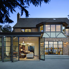 Eclectic Exterior by NB Design Group, Inc
