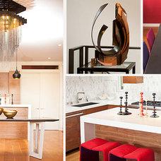 Modern Dining Room by LOCZIdesign