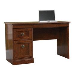 Sauder - Sauder Arbor Gate Computer Desk in Coach Cherry - Sauder - Computer Desks - 409331