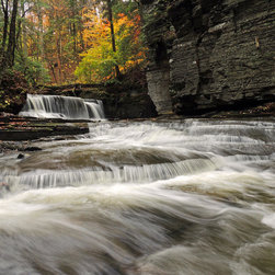 Stomping Grounds - Fall Flow - A rainy day at Fillmore Glen State Park