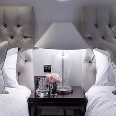gorgeous grey luxury boutique hotel styling - ... | Bedroom Ideas