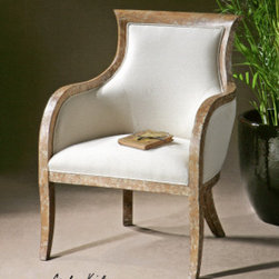 "23080 Quintus, Armchair by uttermost - Get 10% discount on your first order. Coupon code: ""houzz"". Order today."