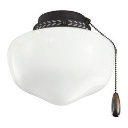 Kichler - Kichler 380064DBK 8 Inch School House Light Fixture - Kichler 380064DBK 8 Inch School House Light Fixt