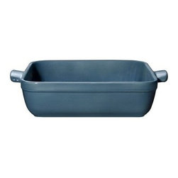 Emile Henry 2.1 qt. Square Baking Dish - Juniper - You may buy it for its looks, but the Emile Henry 2.1 qt. Square Baking Dish - Juniper will soon be your go-to kitchen essential. As sturdy and versatile as it is handsome, this baking dish cooks cakes, au gratins, brownies, casseroles, and more in style. It's handcrafted from local clay found in Burgundy, France and fired in a high heat-resistant oven. It has a deep juniper color and translucent glaze designed not to crack, discolor, or scratch. Ideal for today's lifestyles, this baking dish can go straight from the freezer to a 500-degree oven. It's also designed for use in the microwave, broiler, and dishwasher. Handy!About Emile Henry Emile Henry was founded in 1850 and is located in Marcigny, a small town tucked within the province of Burgundy, France. It is still owned and operated by the Henry family. Over the generations Emile Henry has established a world-renowned reputation for creating the finest quality ceramic ovenware, gourmet cooking products, and exceptional bakeware products. Their products include baking dishes and cake stands. The discerning gourmand will recognize the quality in every loaf pan, casserole dish, stew pot, handcrafted pie dish, trivet, tagine, and brazier they create. Emile Henry manufacturers all of their cooking products from clay found in the Burgundy region. Burgundy is noted for their world-famous wines due in part to the mineral-rich limestone soil. It is this soil and clay that go into the special clay cookware crafting formulas that are the basis of all Emile Henry ceramic cookware products.