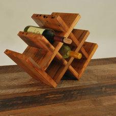Rustic Wine Racks by BONEHEAD STRUCTURE