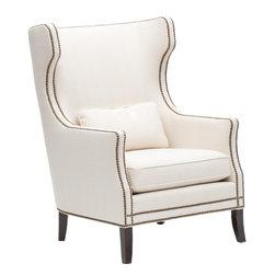 High Fashion Home Product 2 - http://www.highfashionhome.com/kingston-chair--white.html