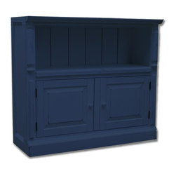 EuroLux Home - New Sideboard Blue Painted Hardwood Classic - Product Details